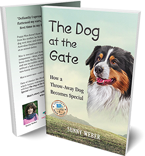 dog a the gate sunny weber author book cover